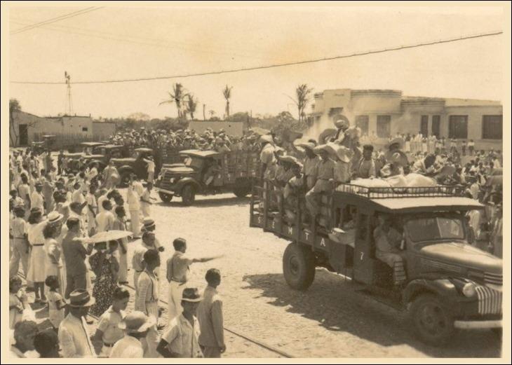 Soldados da Borracha chegando no Amazonas