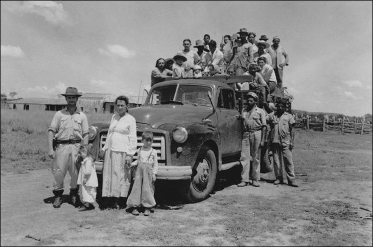 Soldaddos da Borracha indo para Amazonas