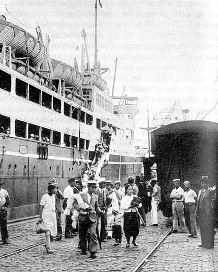 Navio Kasato Maru Imigrantes Japoneses 1908