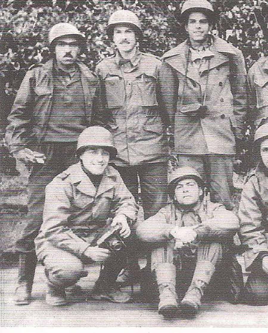Soldados Segunda Guerra Rubens Paiva à esquer