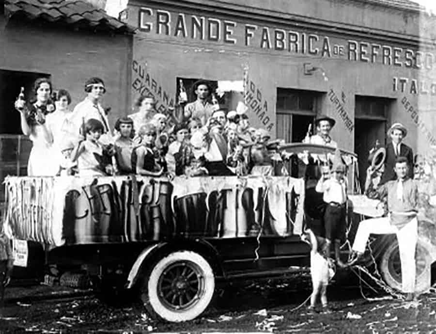 Desfile carnaval 1928