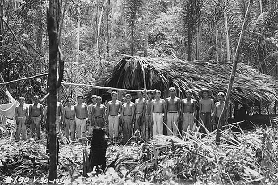Trabalhadores Fordlândia 1934