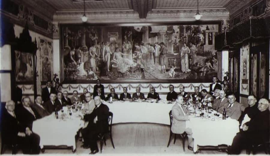 Chá da tarde Confeitaria Rocco 1920