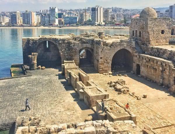 Sidon - Líbano - 4000 a.c.