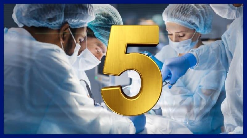 Cinco procedimentos cirúrgicos estranhos e maravilhosos