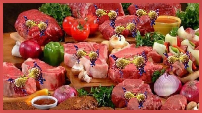 Como a carne vermelha está ligada ao câncer?