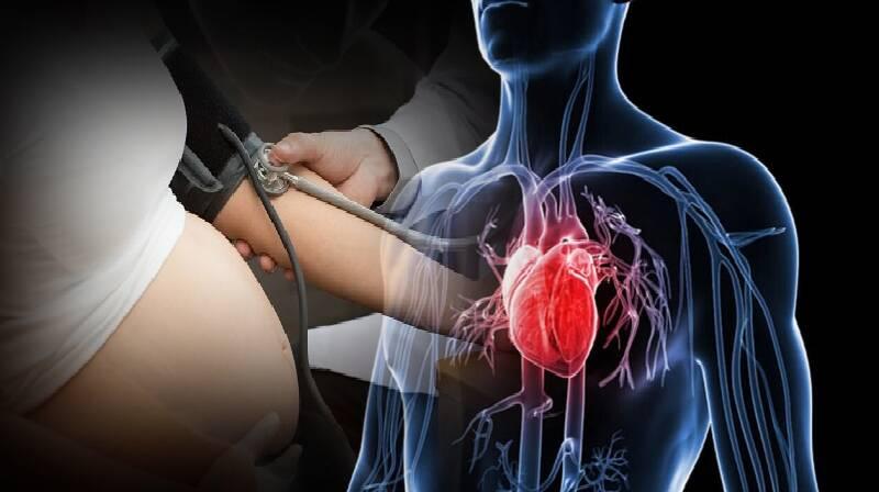Complicações na gravidez relacionadas ao aumento do risco de doenças cardíacas e derrame ...