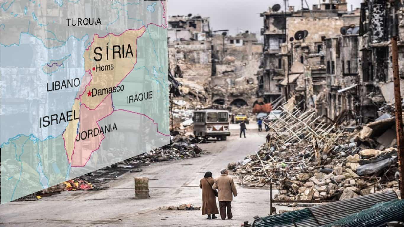 Conflitos : Guerra Civil na Síria