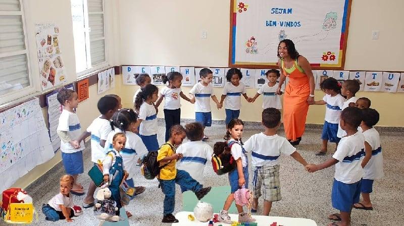 Crianças bem nutridas em idade pré-escolar: melhor desempenho em teste QI!