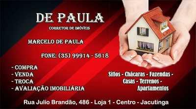 DE PAULA - Corretor de Imóveis