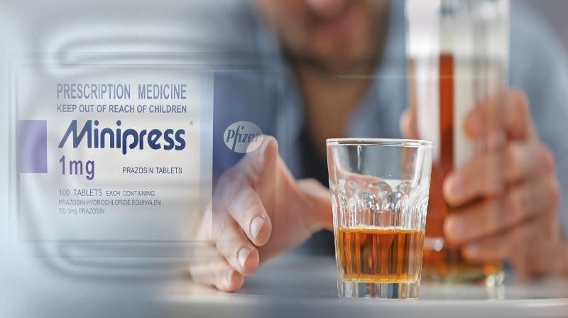 Droga usada em hipertensão facilita a recuperação para aqueles com abstinência alcoólica grave