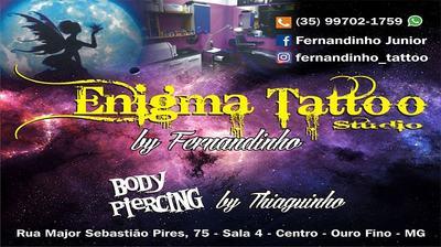 Enigma Studio - Fernandinho Tatoo