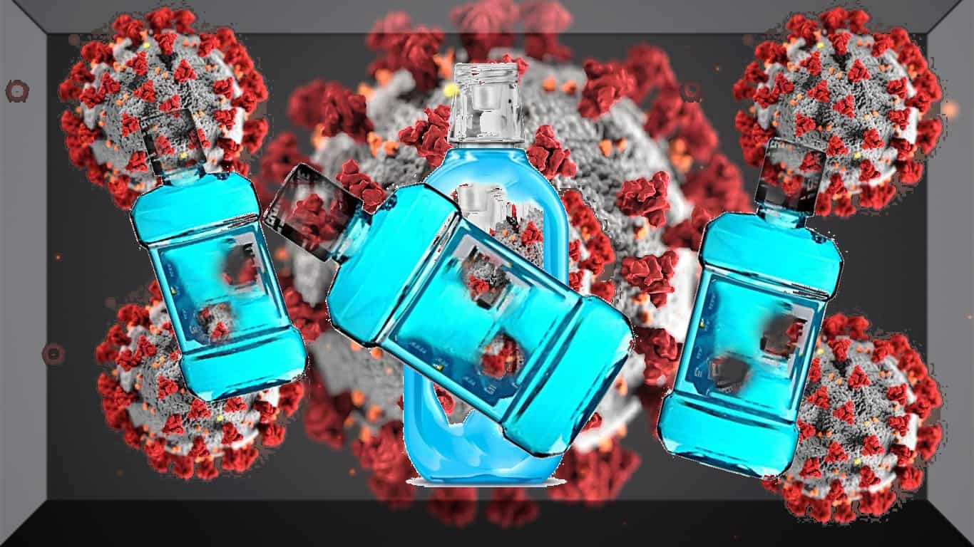 Enxaguatório bucal pode reduzir a disseminação do novo coronavírus