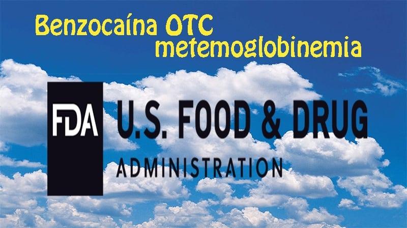 FDA (USA) retira do mercados produtos com Benzocaína OTC