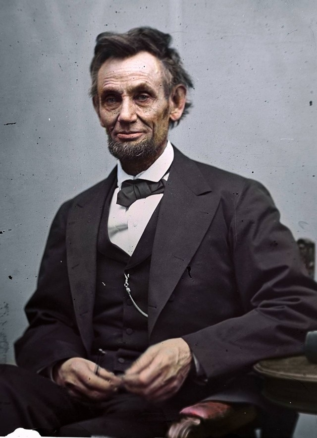 Abraham Lincoln. 1865