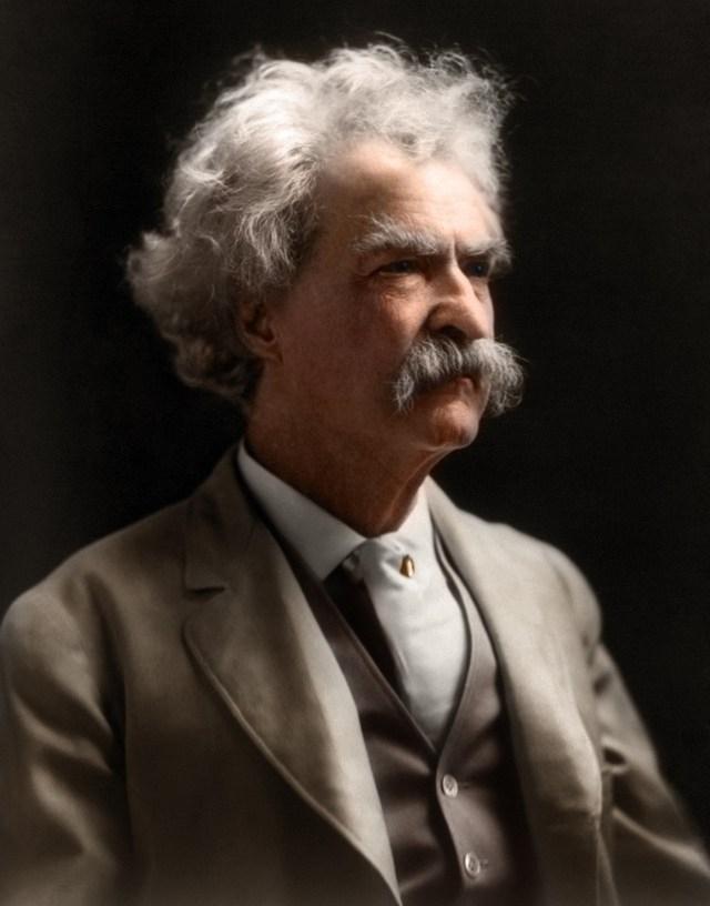 Mark Twain. 1909