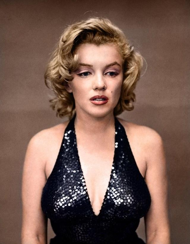Marilyn Monroe por Richard Avedon. 1957