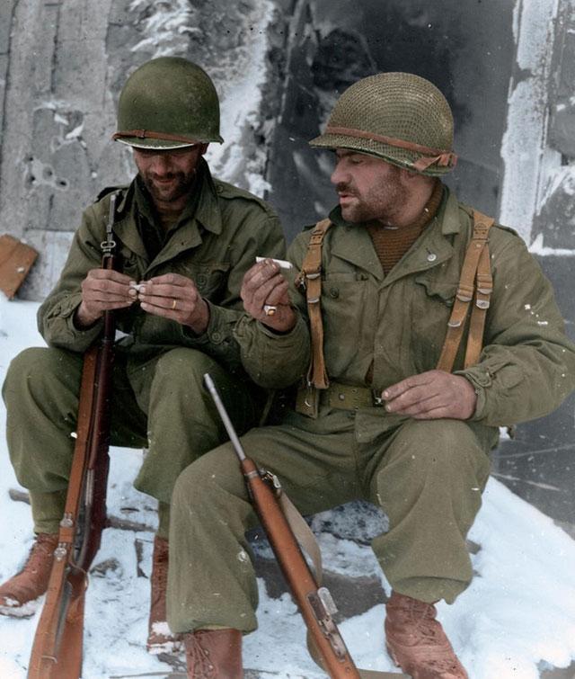 Soldados Segunda Guerra