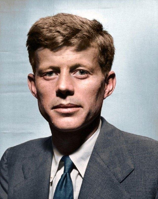John F. Kennedy. 1947