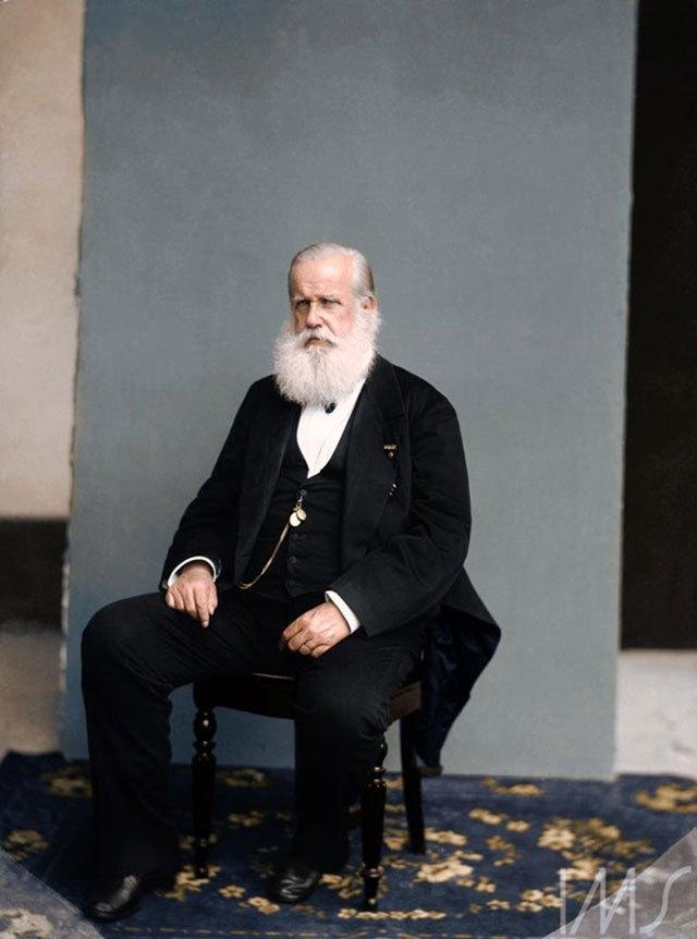 Imperador Dom Pedro II. 1885