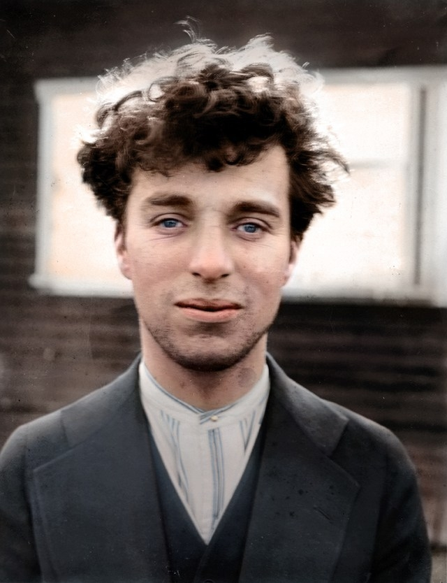 Charlie Chaplin. 1916