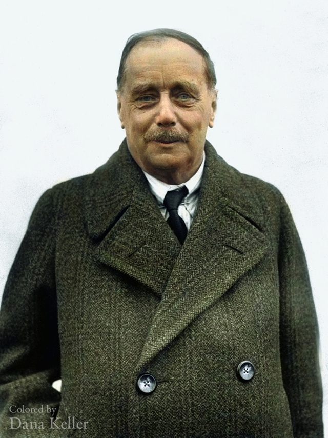 H.G. Wells. 1930