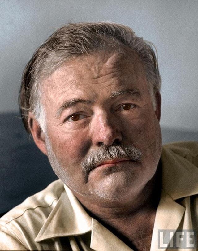 Ernest Hemingway 1952