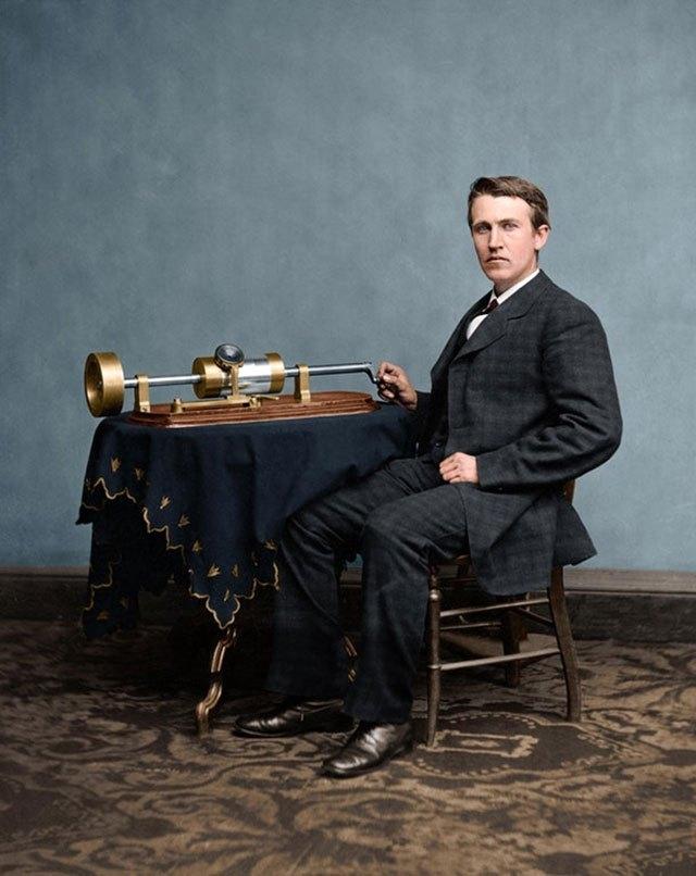 Thomas Edson. 1878