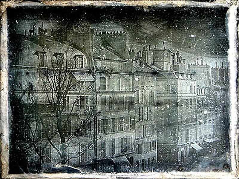 Casa de Louis Daguerre, 1838