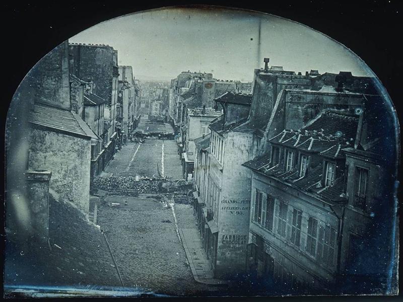 Barricadas Saint-Maur, Paris, 1848