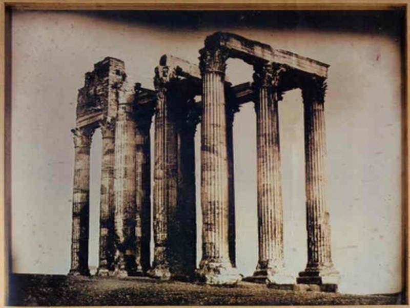 Templo de Zeus 1842