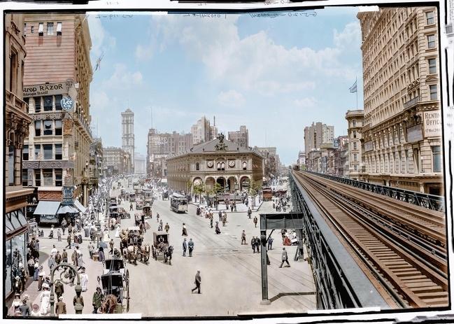 Nova York Colorida 1908