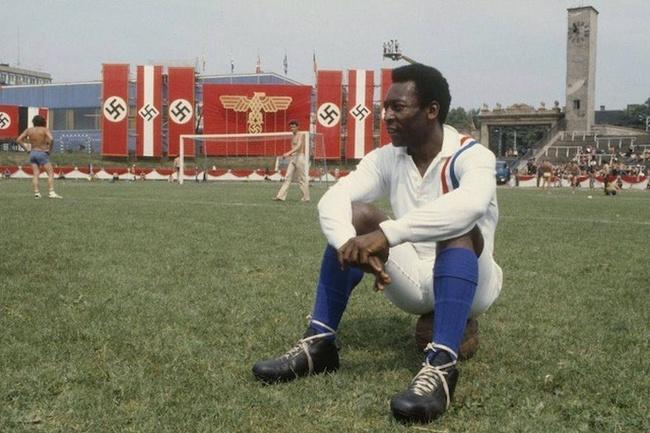 Pelé Descansando filmagem 1981