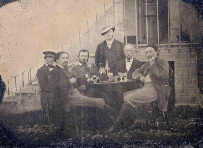 incent van Gogh (terceiro do lado esquerdo)