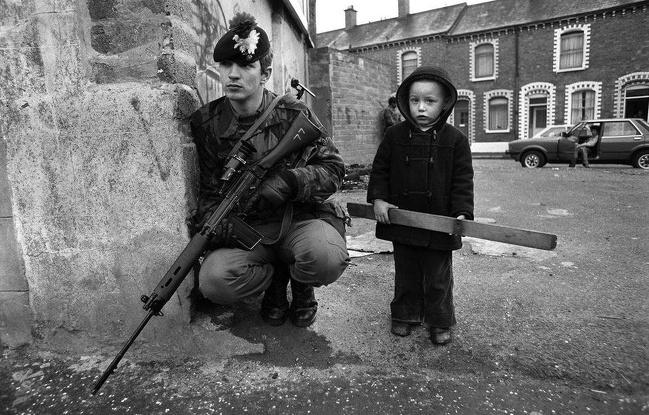 Belfast, Irlanda do Norte, 1980