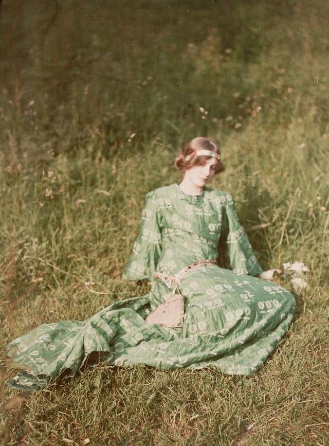 Dia no jardim, 1909
