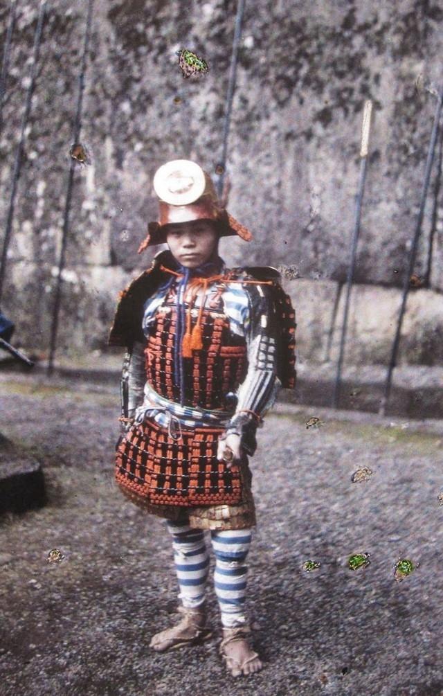 Um Apan, jovem Samurai, em 1912
