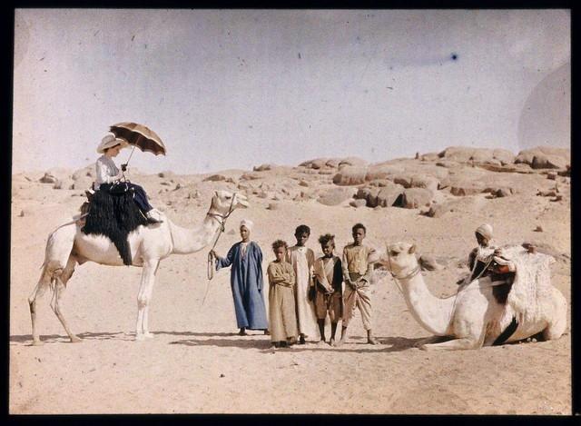 Passeio de camelo, 1913