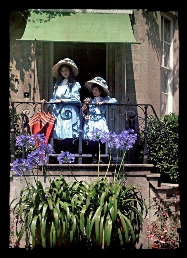 Garotas na sacada, 1908