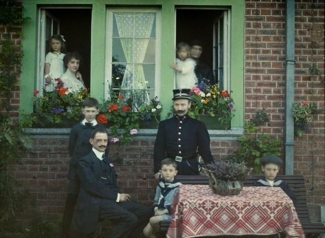 Retrato de família, Bélgica, 1913