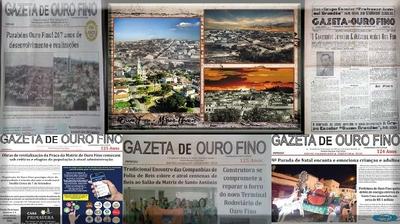 Gazeta de Ouro Fino - Minas Gerais