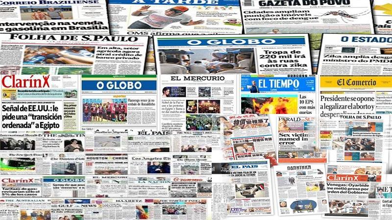 Jornais de Todo Mundo - Impressos - Digital
