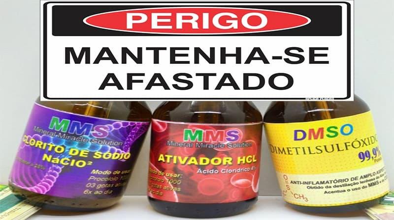 MMS/CD: Solução Mineral Milagrosa, um golpe que está colocando a saúde de muita gente em risco.
