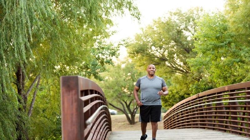 Mais de qualquer atividade física ligada a uma vida mais longa