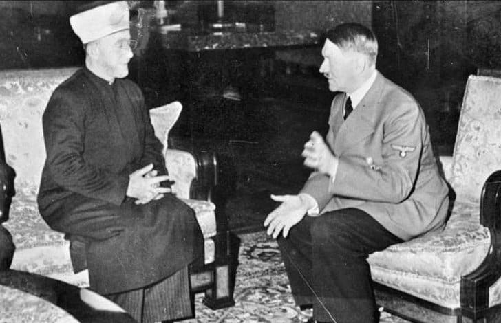 Adolf Hitler reunido com Haj Amin al-Hussein