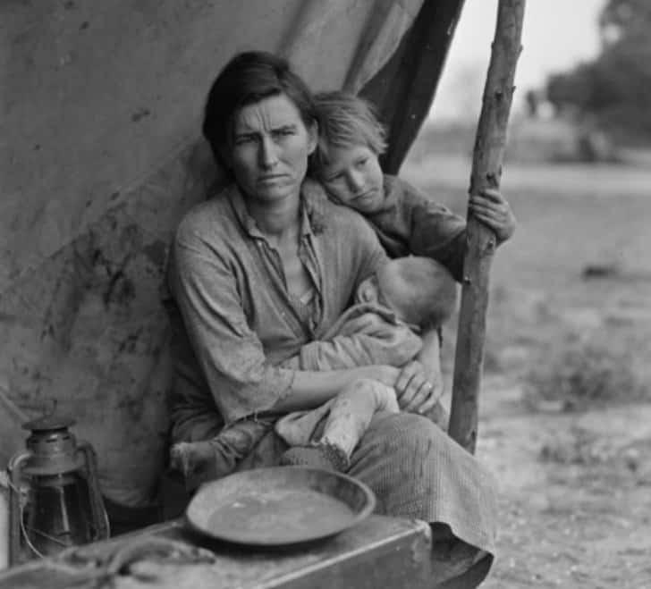 Mãe Migrante 1936