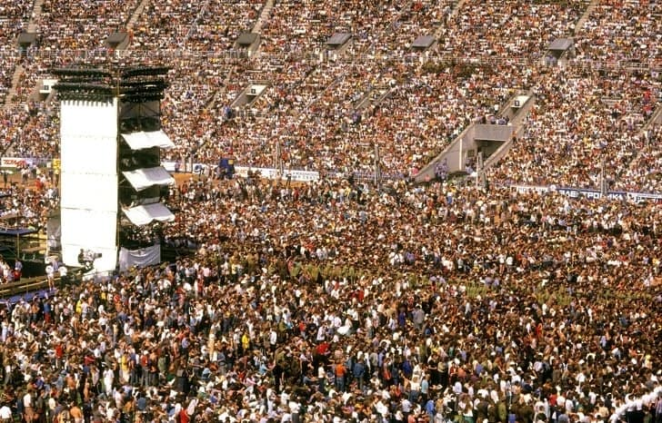 Festival Rock Moscou 1989