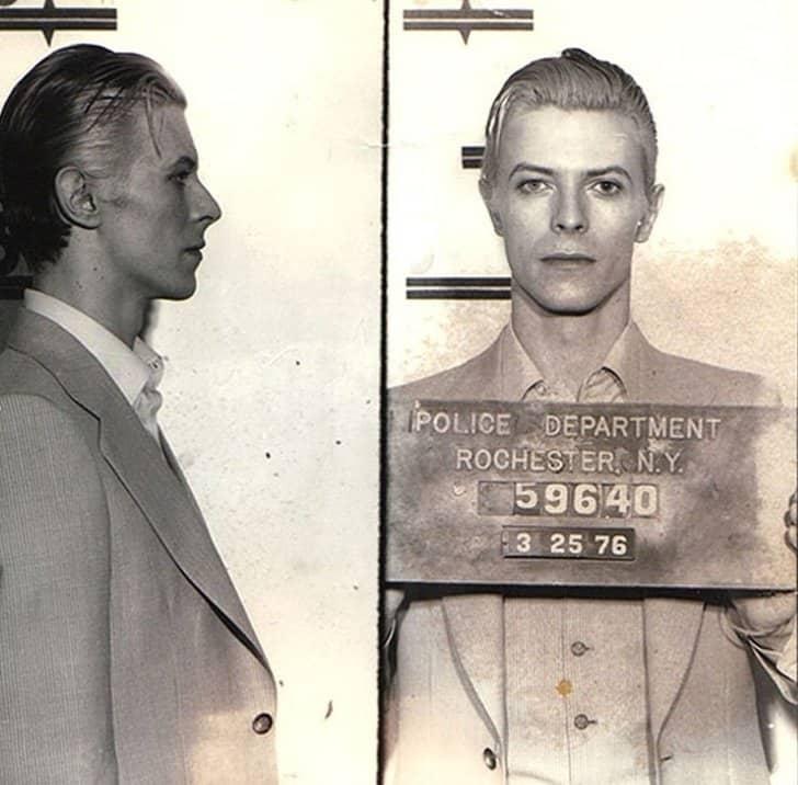 Detenção de David Bowie, 1976