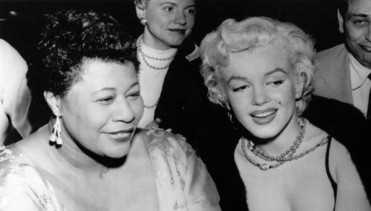 Ella Fitzgerald e Marilyn Monroe, 1954