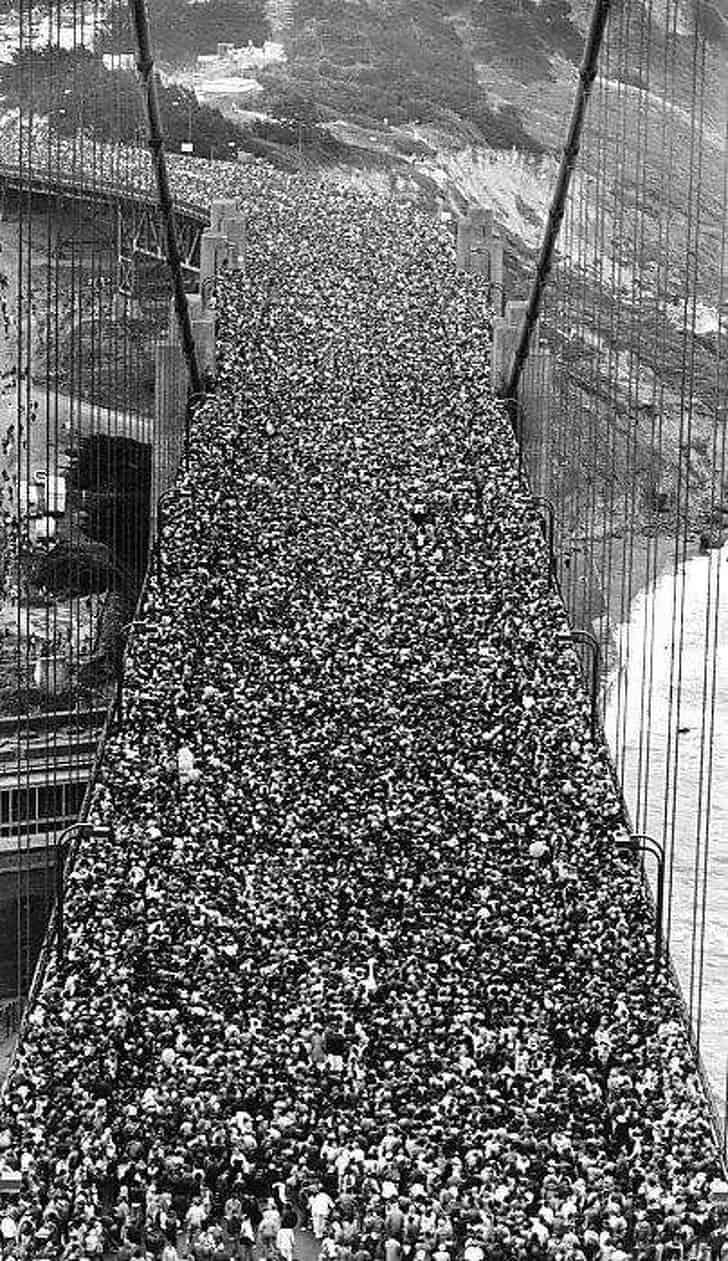 Inauguração da ponte Golden Gate, 1937